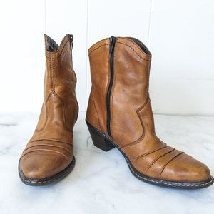 Rieker Cowboy / Western Style Ankle Boots 7